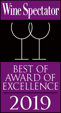 Wine Spectator Best of Award of Exellence 2019 for Restaurant 360 Dubrovnik