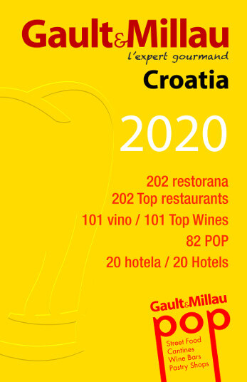 Restaurant 360 Dubrovnik won the first place in the Gault Millau Croatia 2020 guide