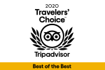 2020 Travelers' Choice Best of the Best winner