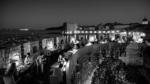 360 Restaurant Dubrovnik - terrace view - bw